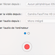 Screen d'un logiciel capture video